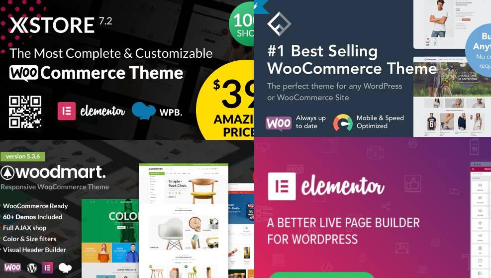 Check out the 4 best WooCommerce themes from ThemeForest in 2021